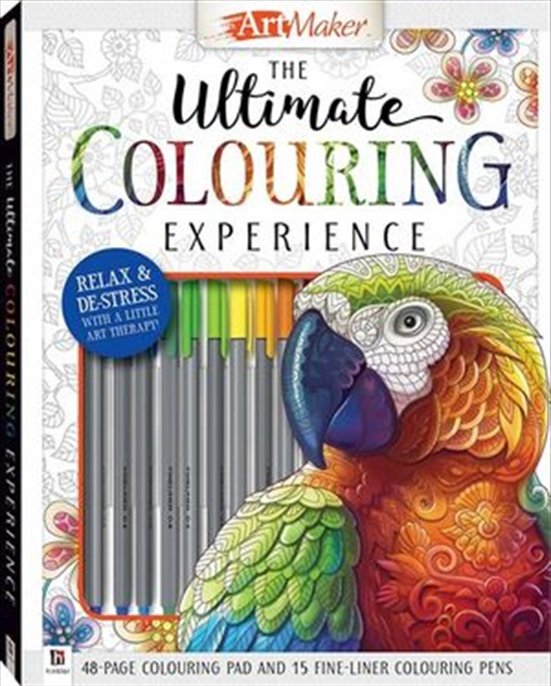 ArtMaker Ultimate Colouring Kit (deluxe) | Hardback Book