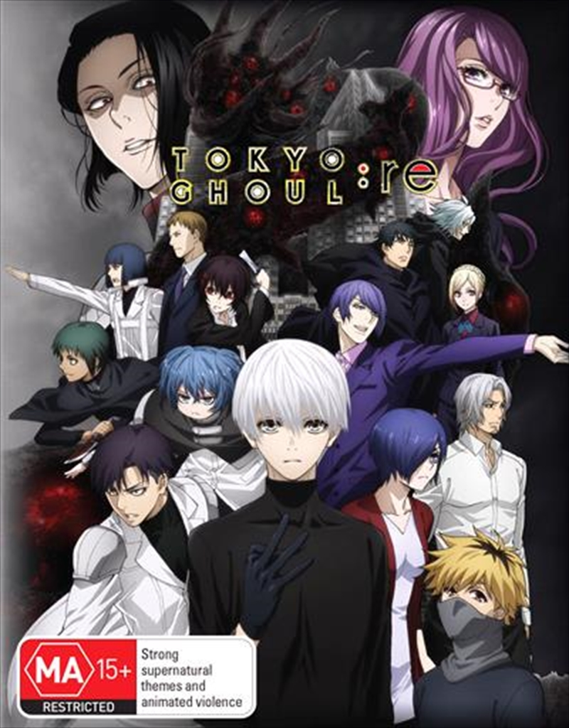Tokyo Ghoul Re - Season 3 - Part 2 - Eps 13-24 - Limited Edition | Blu-ray + DVD | Blu-ray/DVD