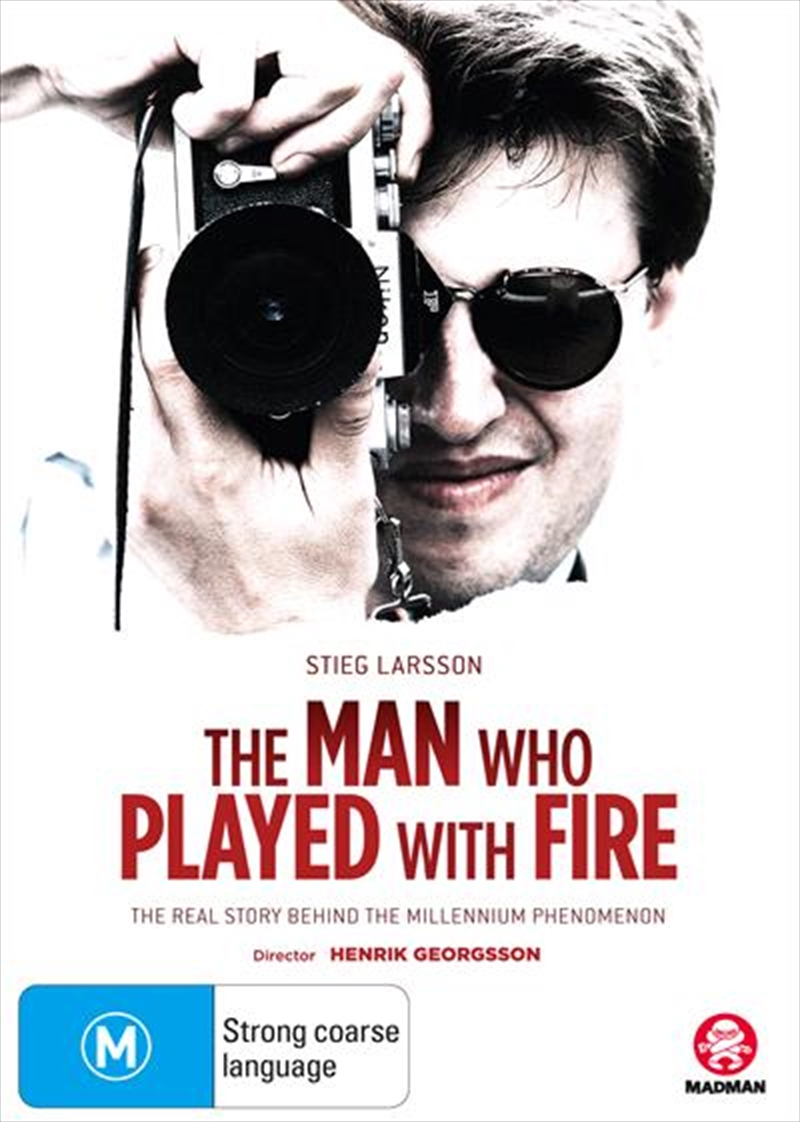 Stieg Larsson - The Man Who Played With Fire | DVD