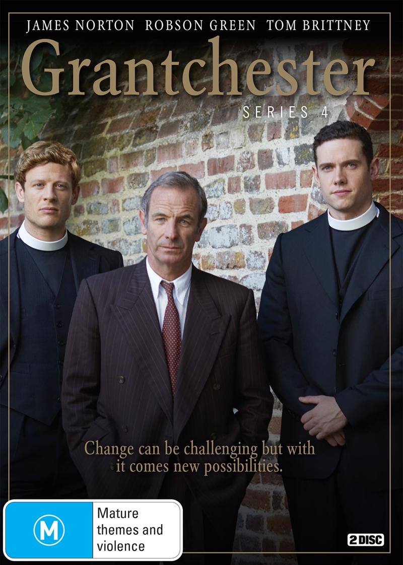 Grantchester - Season 4   DVD