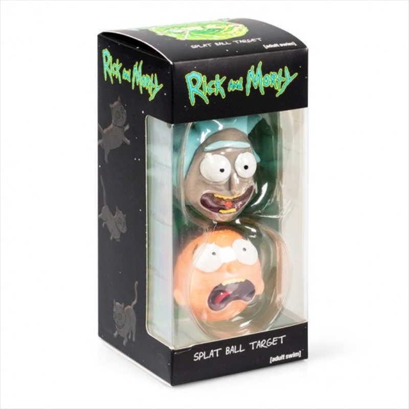 Rick And Morty Splat Balls With Portal Target | Toy