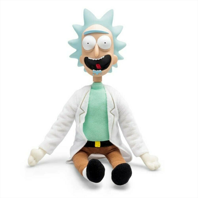 Talkie Rick: 6 Classic Sayings Rick and Morty Plush | Merchandise