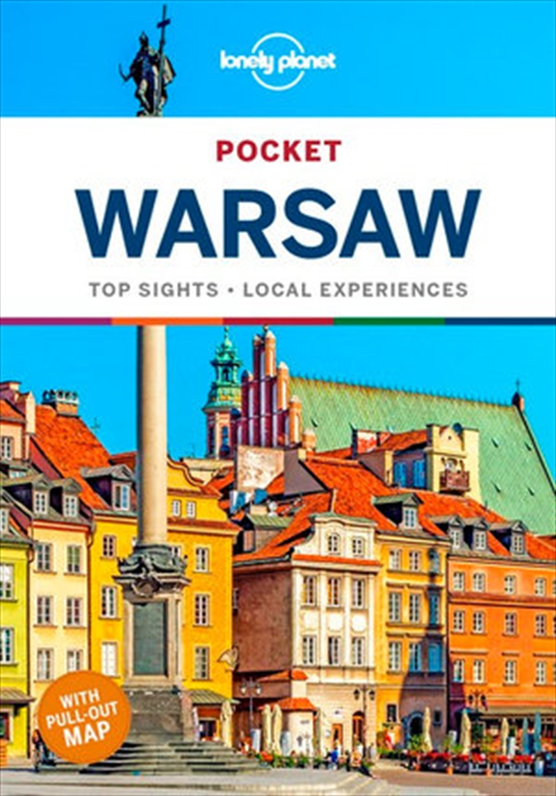 Lonely Planet Pocket Travel Guide Warsaw 1 | Paperback Book