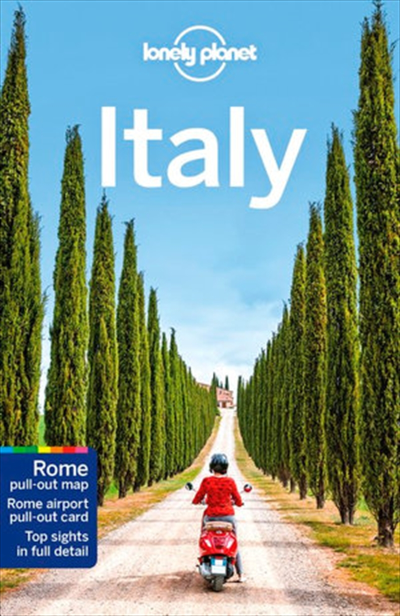 Lonely Planet Travel Guide - Italy | Paperback Book