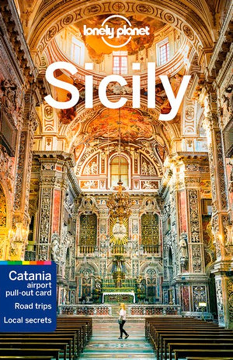 Lonely Planet Travel Guide - Sicily | Paperback Book