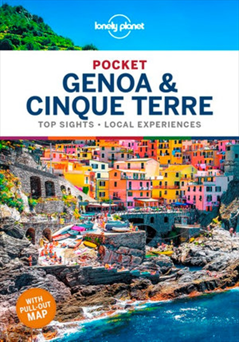 Lonely Planet Pocket Travel Guide Genoa And Cinque Terre | Paperback Book