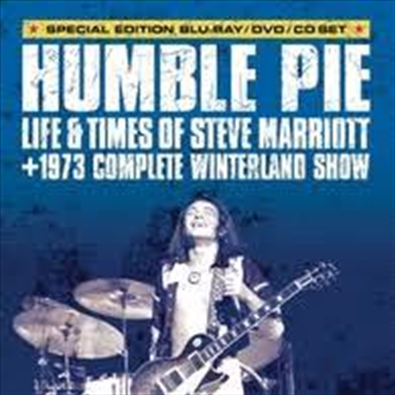 Humble Pie - Life And Times Of Steve Marriott | Blu-ray/CD