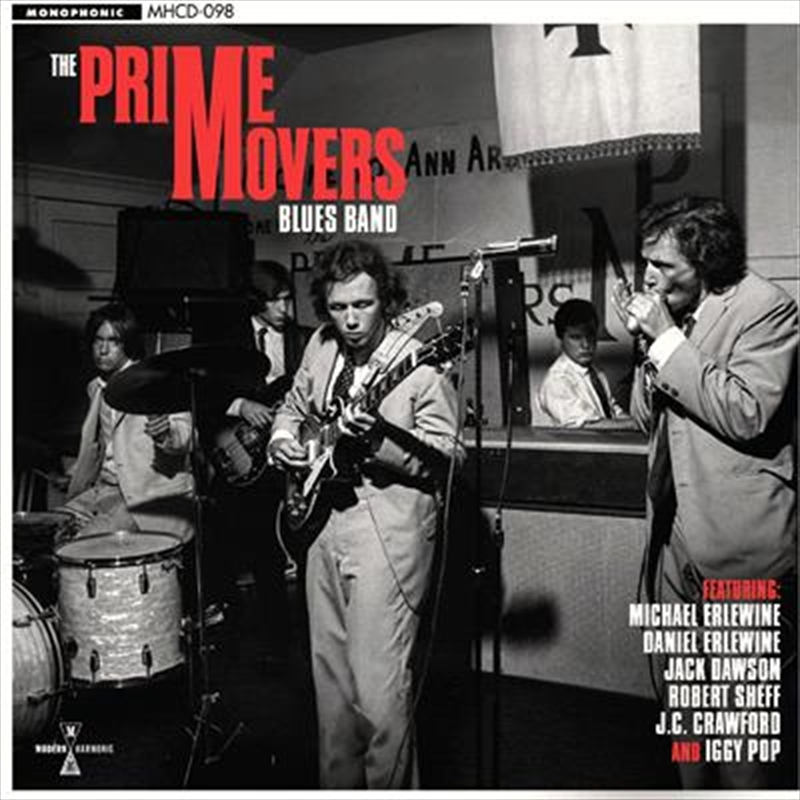 Prime Movers Blues Band   CD