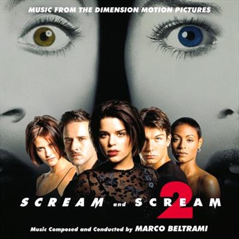 Scream 1 And 2 - Coloured Vinyl   Vinyl