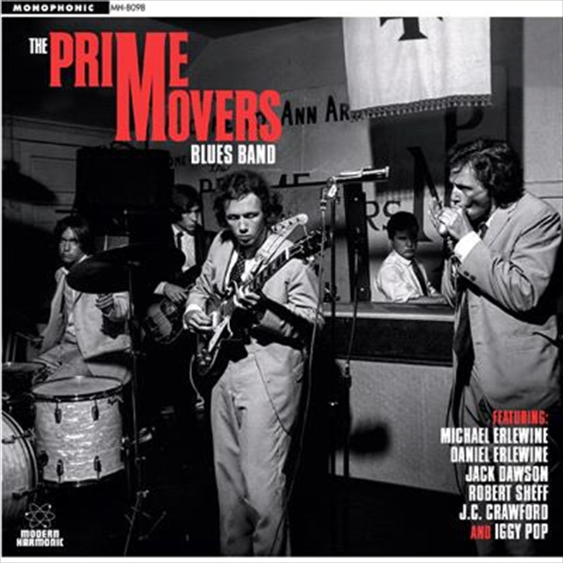 Prime Movers Blues Band | Vinyl