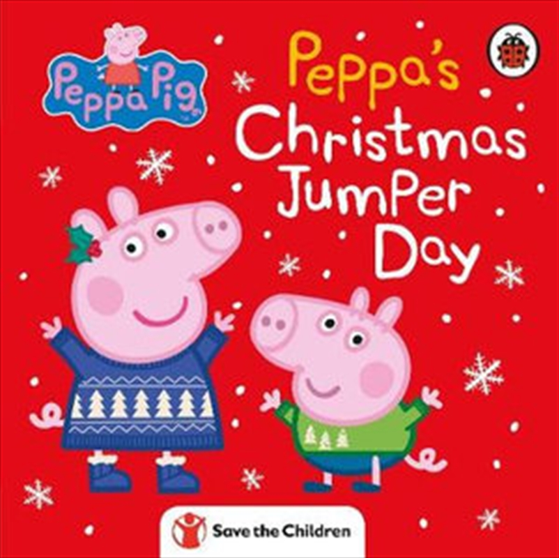 Peppa Pig - Peppa's Christmas Jumper Day | Hardback Book