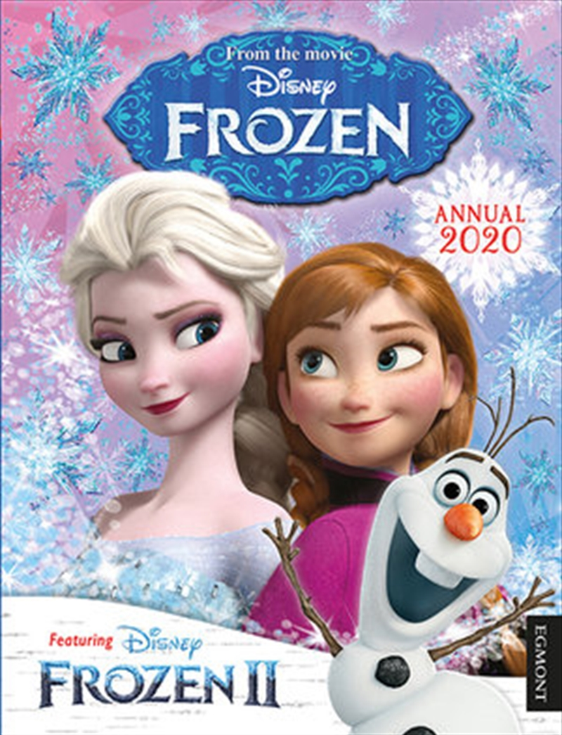 Disney Frozen Annual 2020   Hardback Book