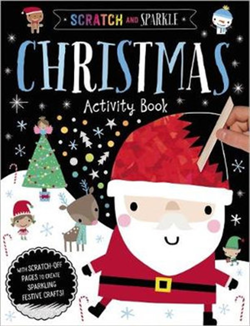 Scratch And Sparkle Christmas | Paperback Book