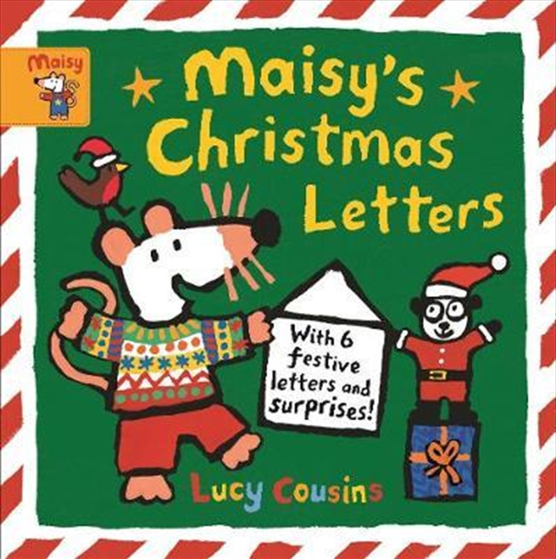 Maisy's Christmas Letters: With 6 festive letters and surprises! | Hardback Book