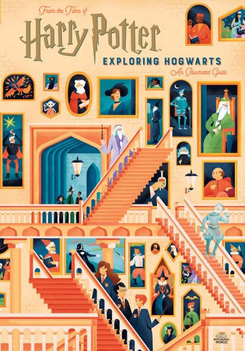 Harry Potter: Exploring Hogwarts - An Illustrated Guide | Hardback Book
