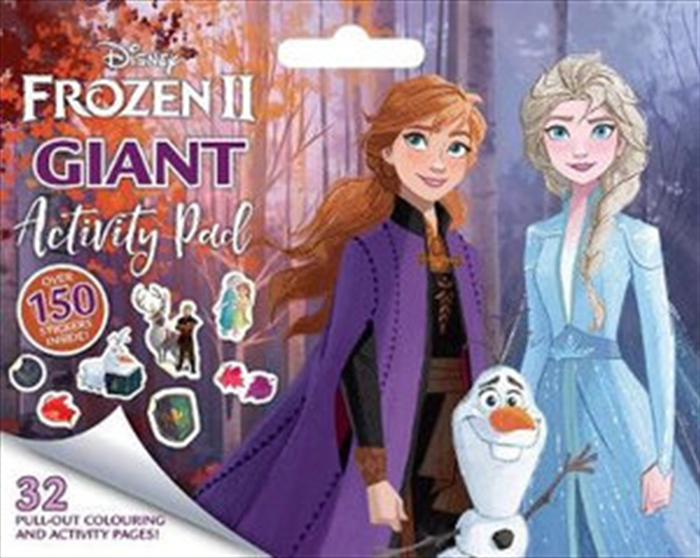 Frozen 2: Giant Activity Pad | Paperback Book