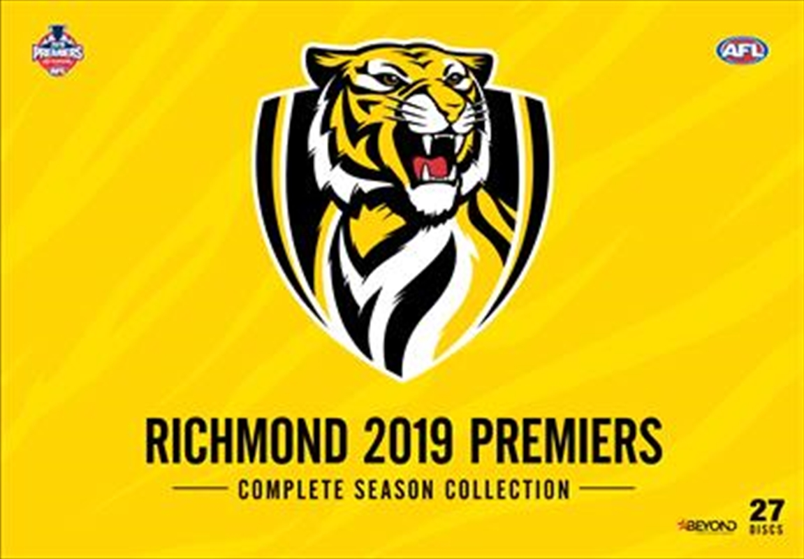 AFL - 2019 Premiers - Complete Season | Collection | DVD