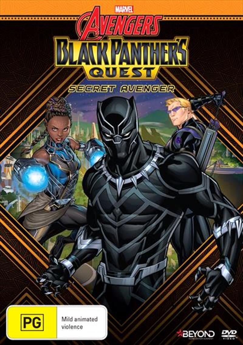 Avengers Assemble - Black Panther's Quest - Secret Avenger | DVD