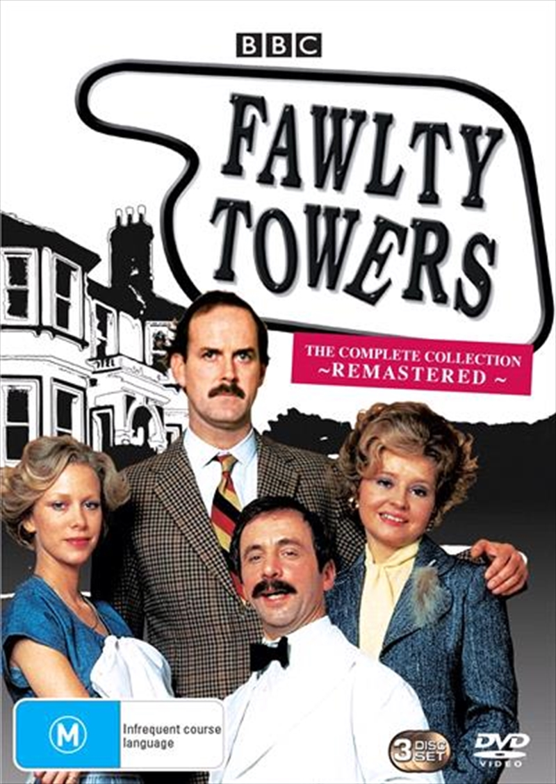 Fawlty Towers - The Complete Remastered | Box Set | DVD