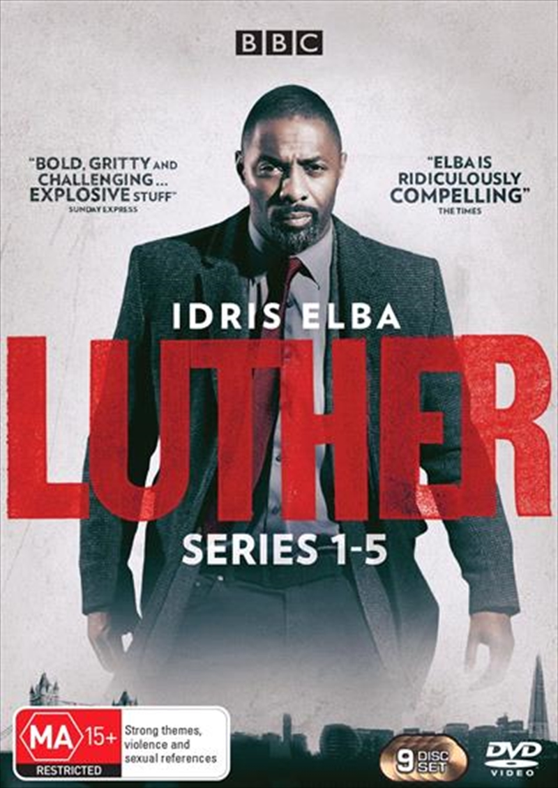 Luther - Series 1-5 | Boxset | DVD