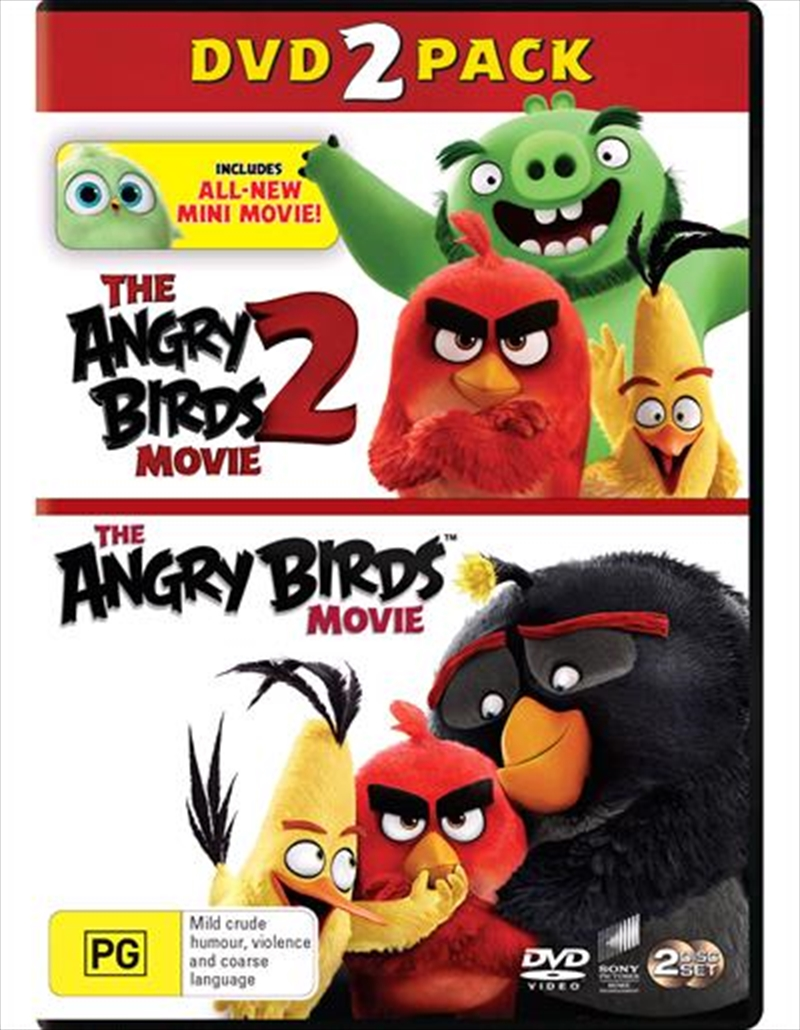 Angry Birds Movie / The Angry Birds Movie 2 | Franchise Pack, The | DVD