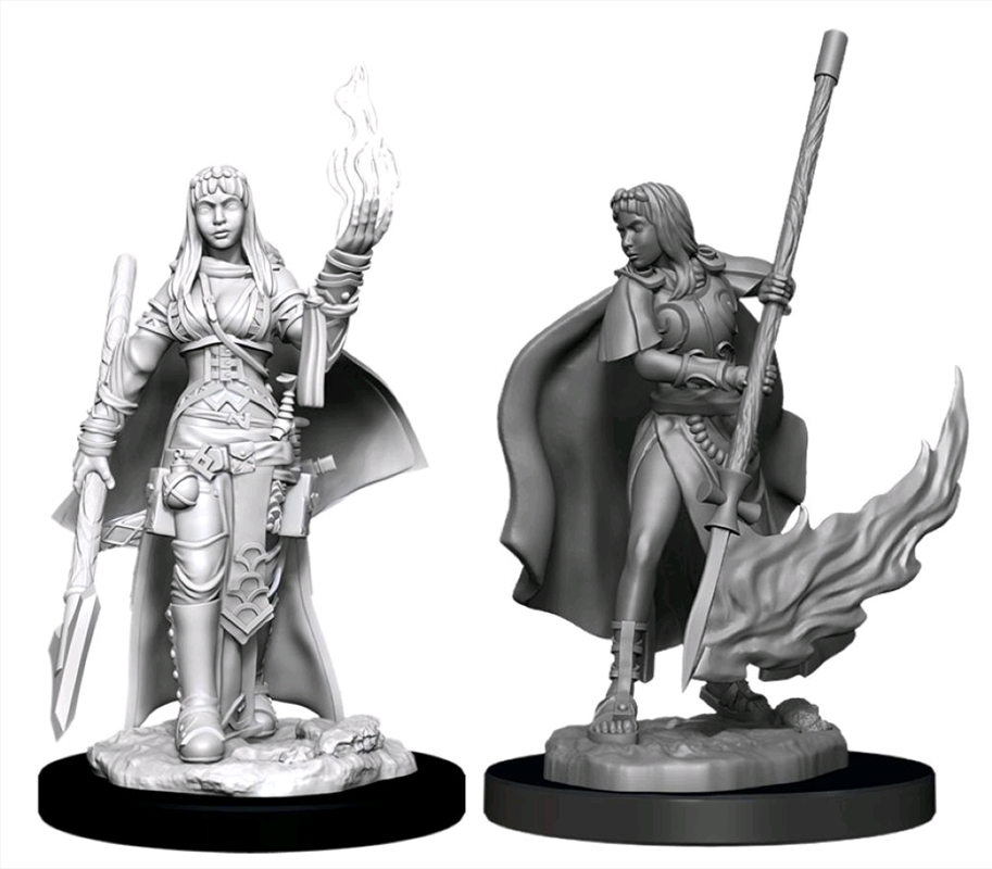 Pathfinder - Deep Cuts Unpainted Miniatures: Female Human Oracle (Magic) | Games
