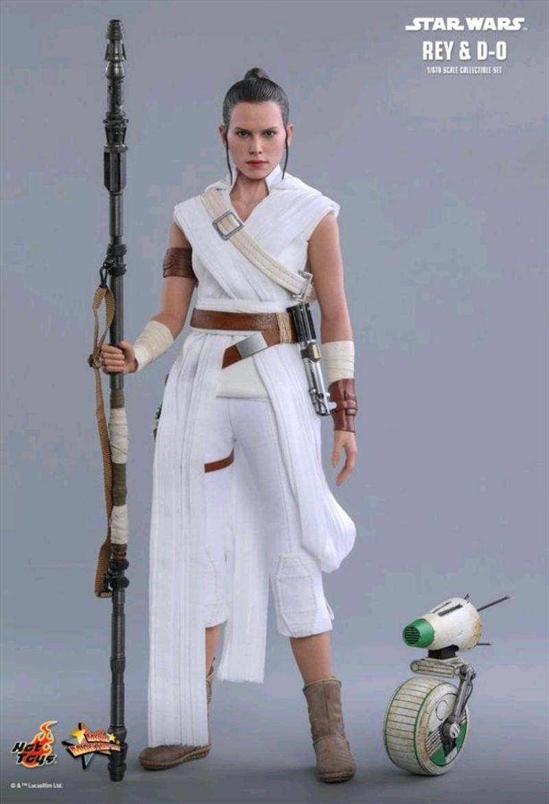 Star Wars - Rey & D-0 Episode IX Rise of Skywalker 1:6 Scale Action Figure Set | Merchandise