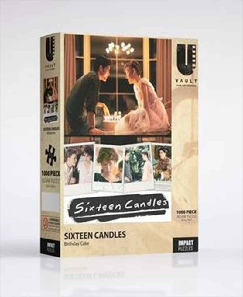 Sixteen Candles - Birthday Cake 1000 Pce Jigsaw   Merchandise