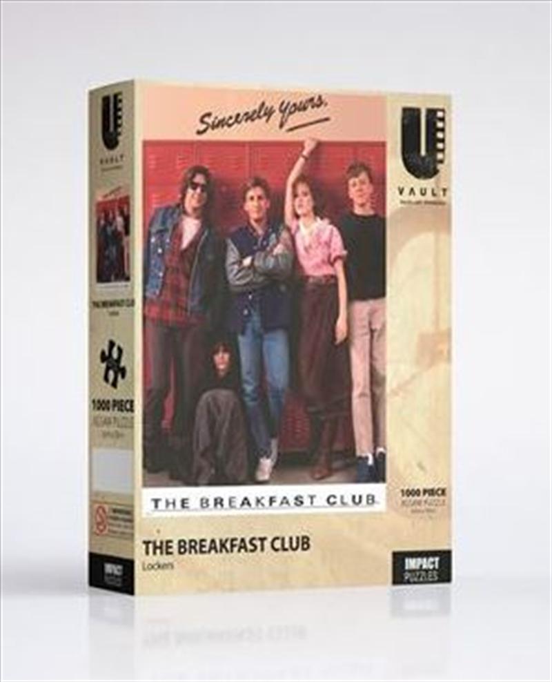 Breakfast Club - Lockers 1000 Pce Jigsaw | Merchandise