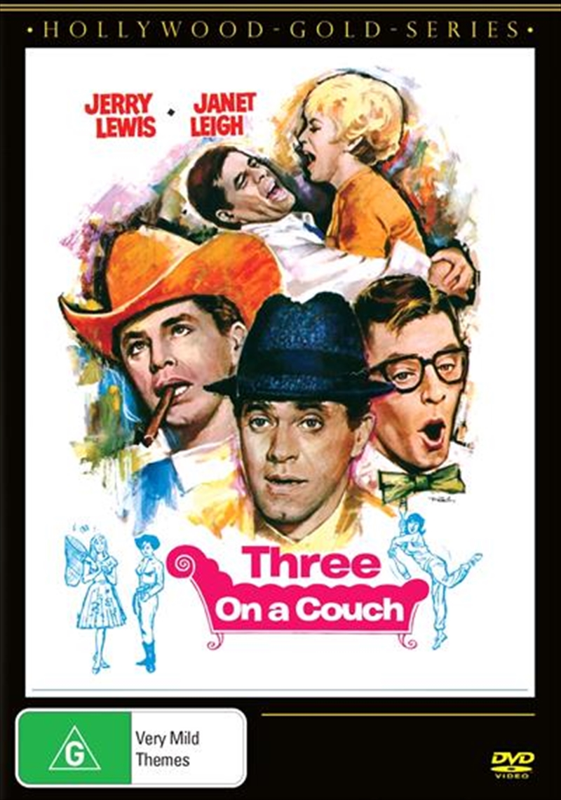 Three On  A Couch | DVD