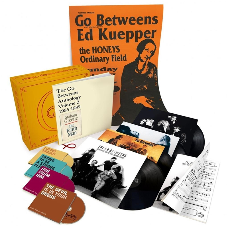 G Stands For Go Betweens Vol 2 Boxset | Music Boxset