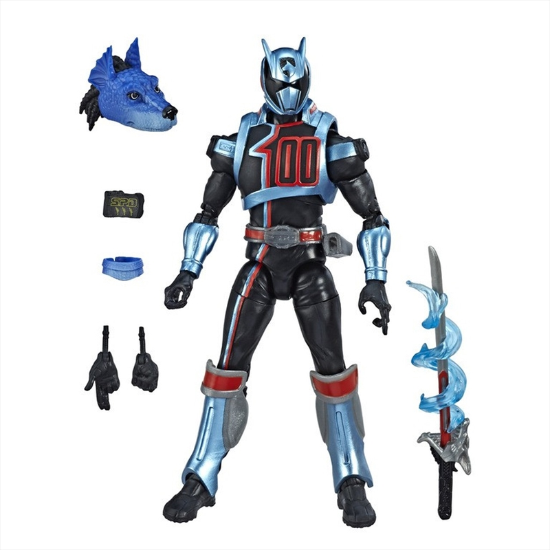 Power Rangers S.P.D. Lightning Collection Shadow Ranger Action Figure | Merchandise