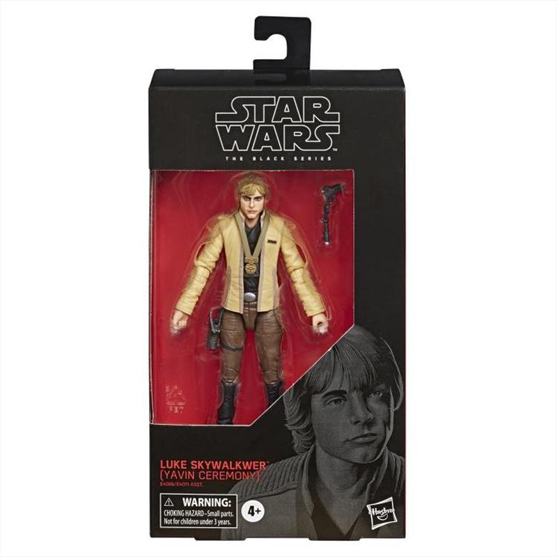 Star Wars A New Hope Black Series Wave 34 Luke Skywalker Action Figure [Yavin Ceremony] | Merchandise