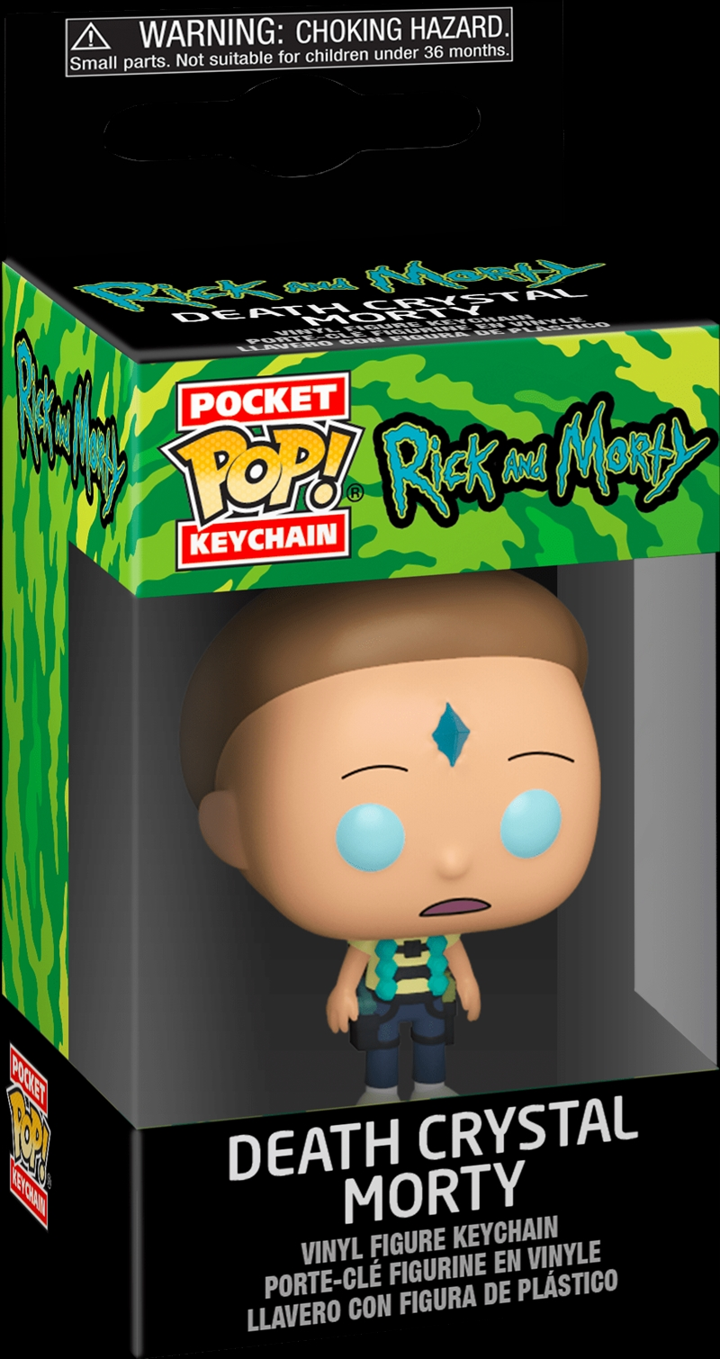 Rick and Morty - Morty Death Crystal Pocket Pop! Keychain | Pop Vinyl