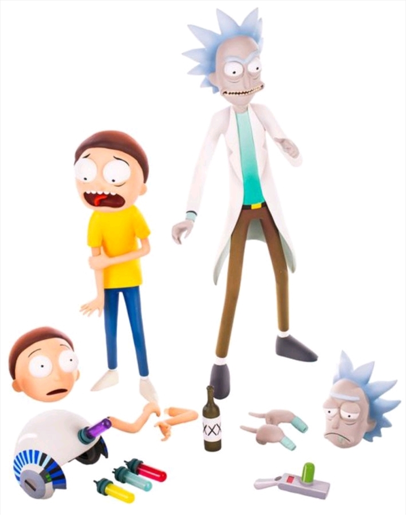 Rick and Morty - Rick & Morty 1:6 Scale Figure Set | Merchandise