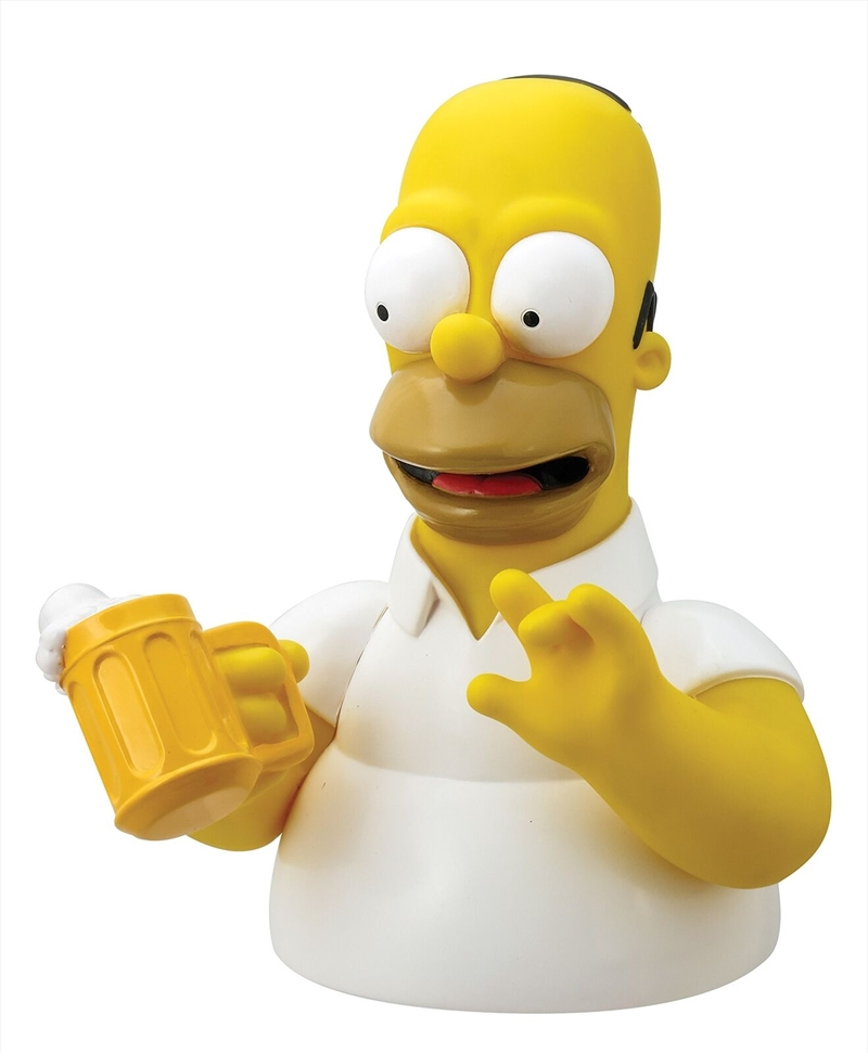 Money Bank Bust Homer Simpson | Homewares