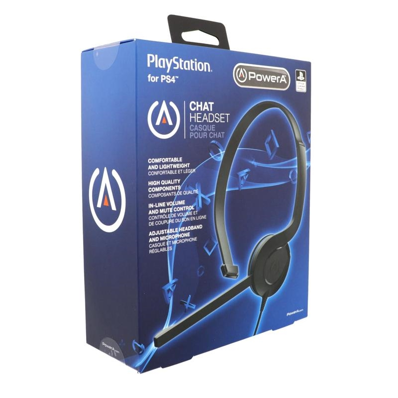 PlayStation 4 Licensed Chat Headset | PlayStation 4