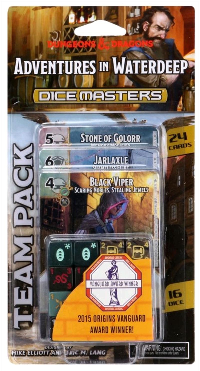 Dice Masters - Dungeons & Dragons Adventures in Waterdeep Team Pack | Merchandise