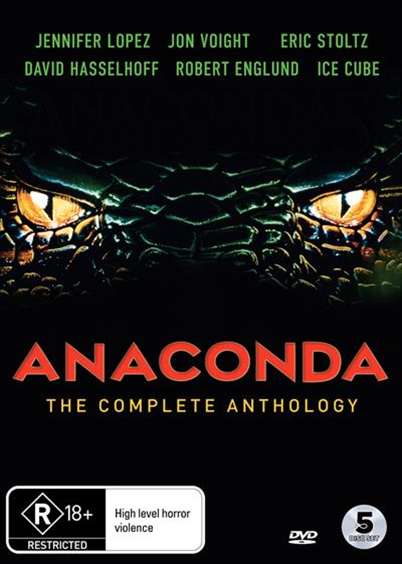 Anaconda | Complete Anthology | DVD