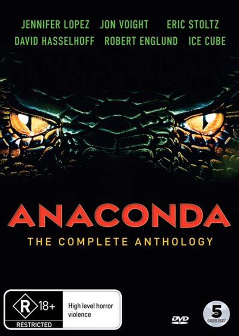 Anaconda   Complete Anthology   DVD