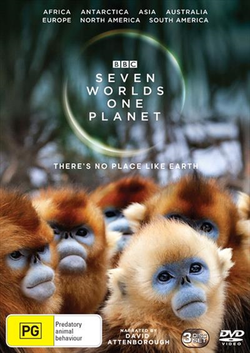 Seven Worlds, One Planet | DVD