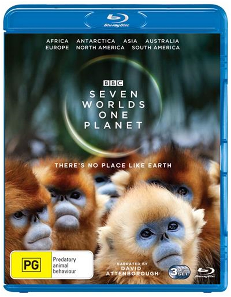 Seven Worlds, One Planet | Blu-ray