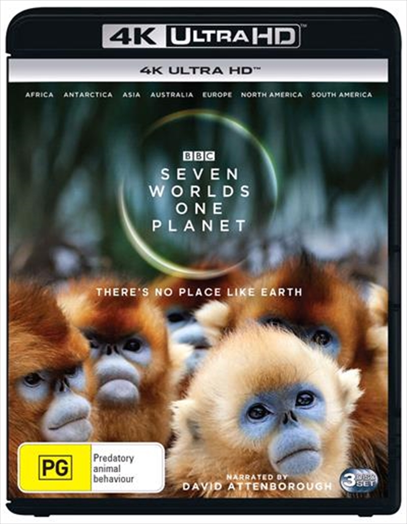 Seven Worlds, One Planet | Blu-ray + UHD | UHD
