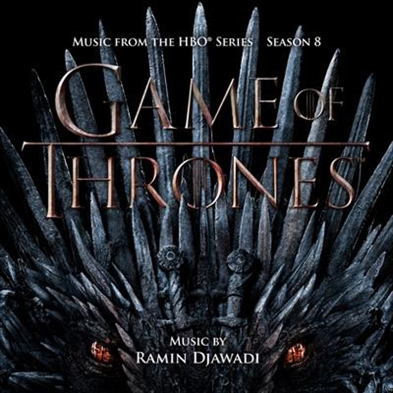 Game Of Thrones - Season 8 - Iron Throne | Vinyl