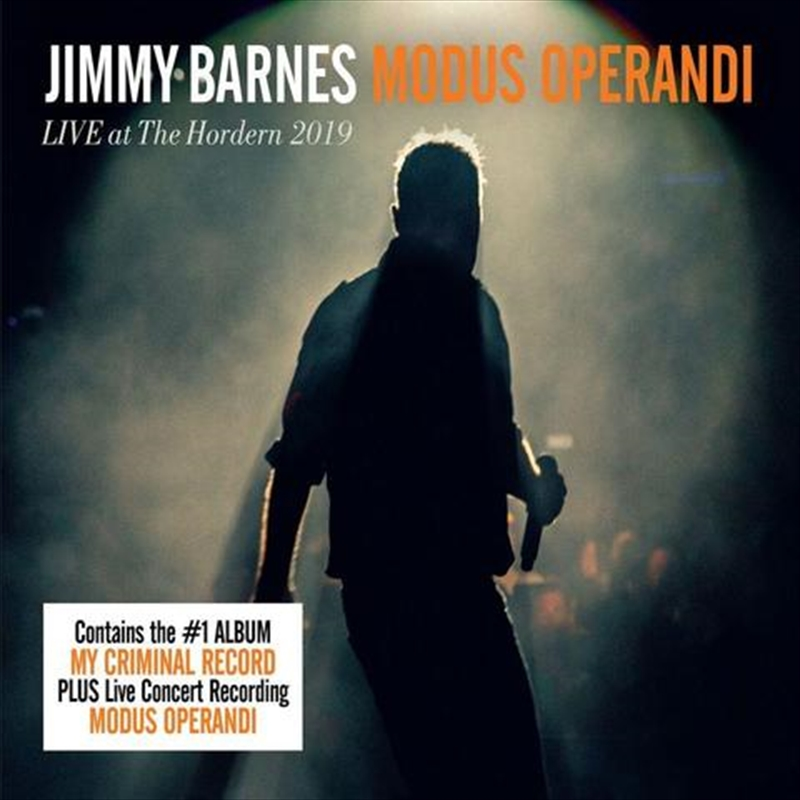 My Criminal Record / Modus Operandi - Live At The Hordern Pavilion 2019 | CD