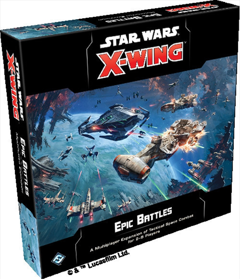 Star Wars X-Wing 2nd Edition Epic Battles Multiplayer Expansion | Merchandise