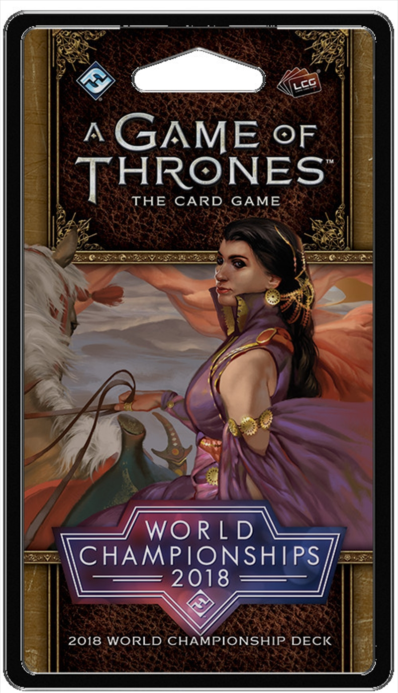 A Game of Thrones LCG - 2018 World Championship Deck | Merchandise