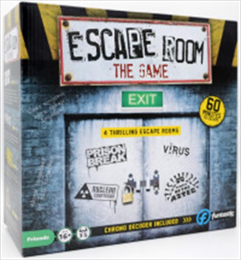 Escape Room the Game - 4 Rooms Plus Chrono Decoder   Merchandise