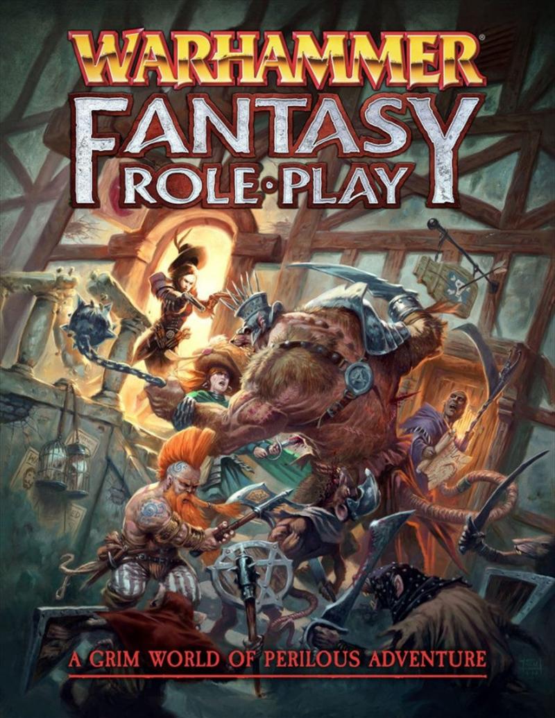 Warhammer Fantasy Roleplay 4th Edition Rulebook | Merchandise