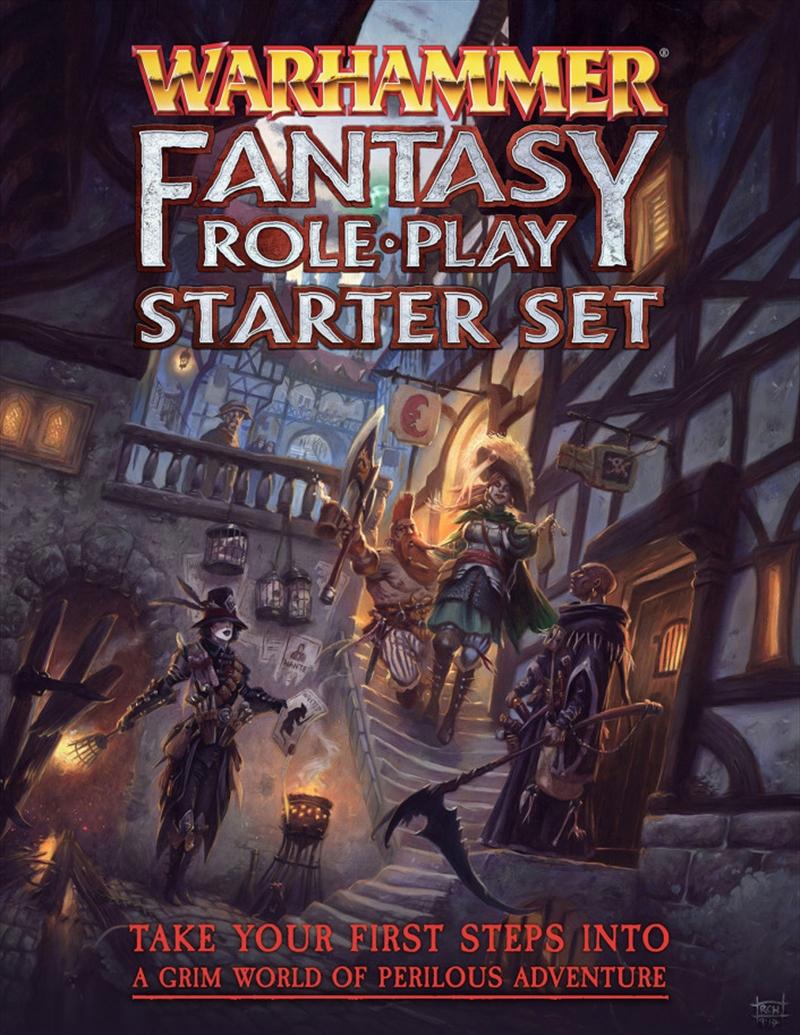 Warhammer Fantasy Roleplay 4th Edition Starter Set | Merchandise
